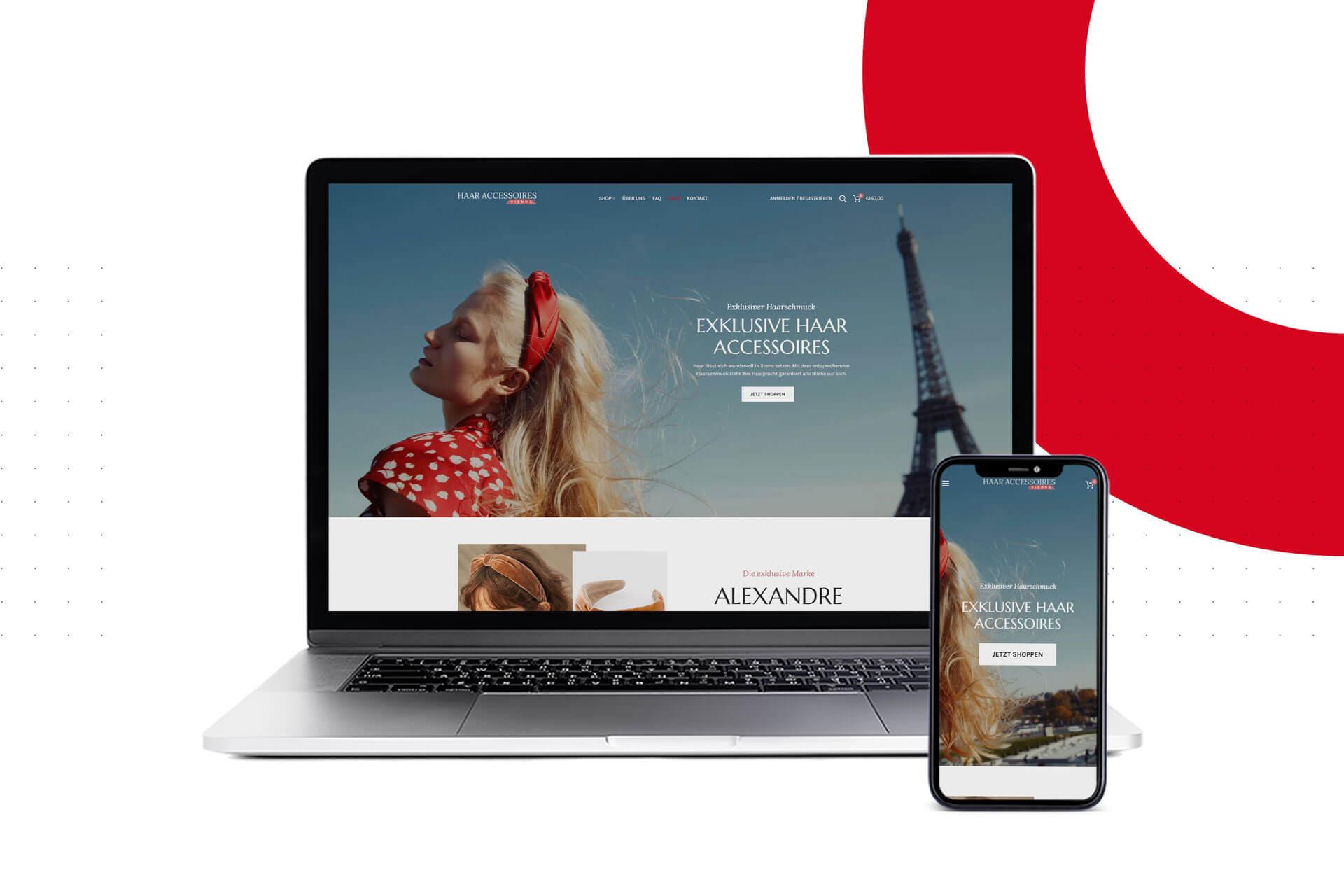 Haar-Accessoires-Onlineshop-Projekt-Redshaper