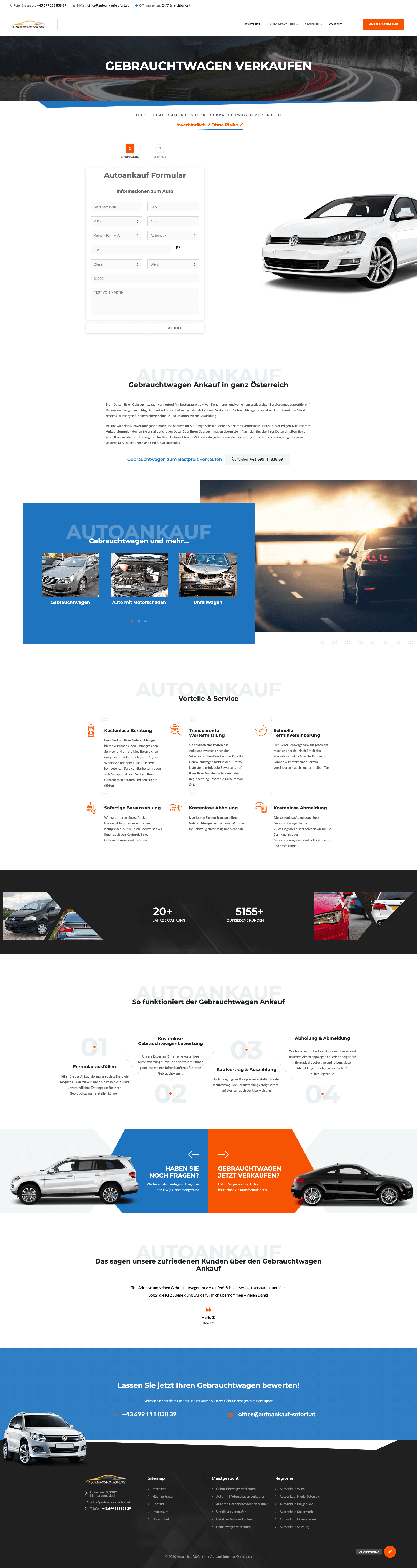 Projekt Autoankauf Sofort Website SEO Google Ads (2)